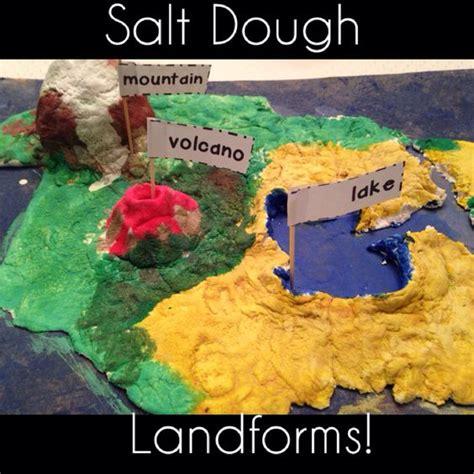 Salt Dough Maps 4th Grade