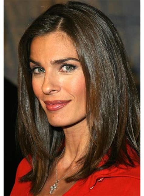 medium straight hairstyles beautiful hairstyles