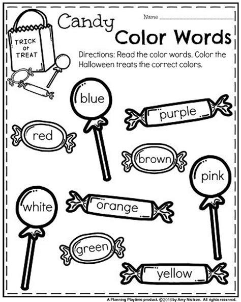 october kindergarten worksheets preschool worksheets kindergarten worksheets preschool colors