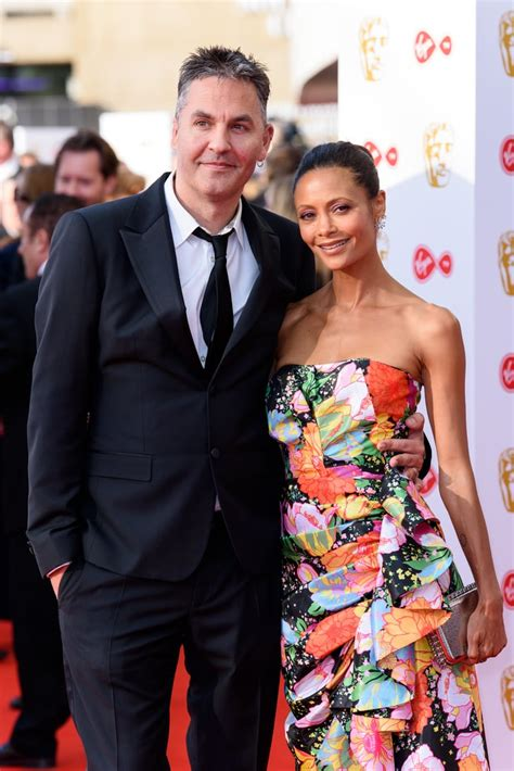 Thandie Newton and Ol Parker at the TV BAFTAs, 2018 ...
