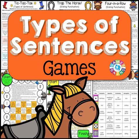 types  sentences games games  gains