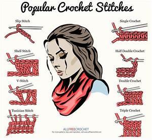 20  Basic Crochet Stitches    Video Tutorials
