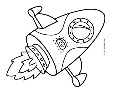 Rocket Coloring Pages Bestofcoloringcom