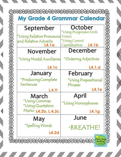 4th Grade Grammar Common Core  Grammar Lessons, Worksheets, Activities No Prep