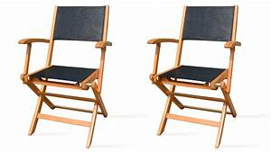 Fauteuil Jardin Bois : fauteuil de jardin pliant bois oviala ~ Teatrodelosmanantiales.com Idées de Décoration