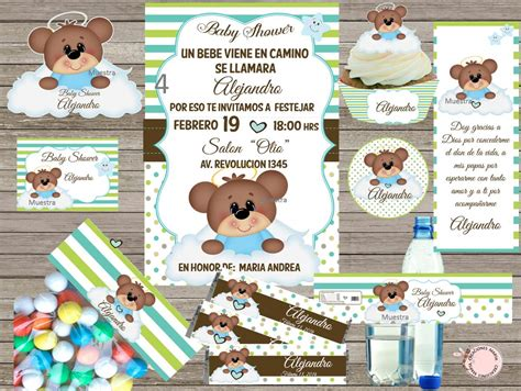 Baby Shower Kid by Kit Imprimible Baby Shower 99 00 En Mercado Libre