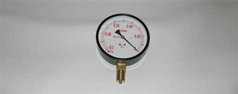 Ashcroft Vacuum Pressure Gauge 30/15