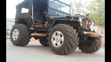 modified jeeps  sale  india contact  youtube