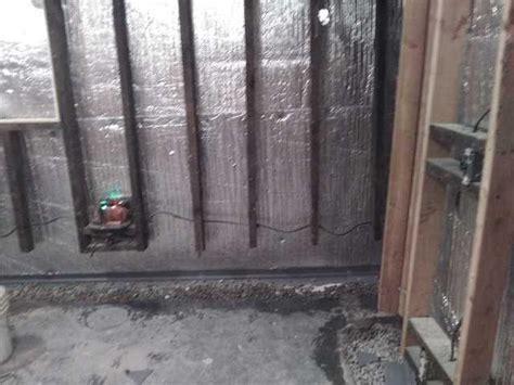 Clarke Basement Systems-basement Waterproofing Before
