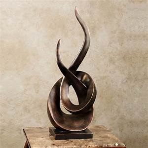 Entwined Contemporary Abstract Table Sculpture