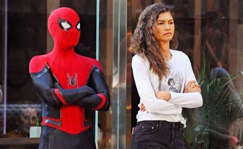 spider man   home wraps filming tom holland shows