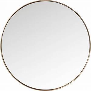 Spiegel Rund Kupfer : spiegel curve rund kupfer 100cm kare design ~ Frokenaadalensverden.com Haus und Dekorationen