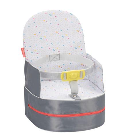 réhausseur chaise badabulle réhausseur de chaise nomade gris de badabulle sur allobébé