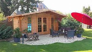Gartenhaus Mit überdachter Terrasse : natursteine im garten inspirationen f r ihre gartengestaltung ~ One.caynefoto.club Haus und Dekorationen