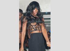 X Factor judge Kelly Rowland has severe wardrobe