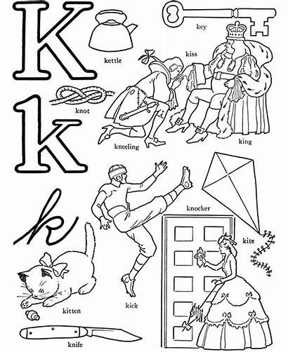Words Pages Letter Alphabet Coloring Activity Abc