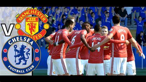 Fifa 17 DEMO: Man Utd vs Chelsea (Stamford Bridge) - 4K ...