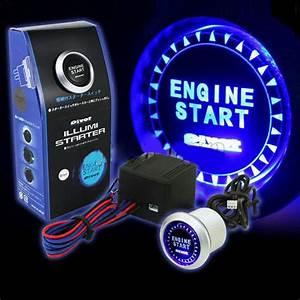 Waterproof Led Auto Keyless Engine Starter Ignition Start