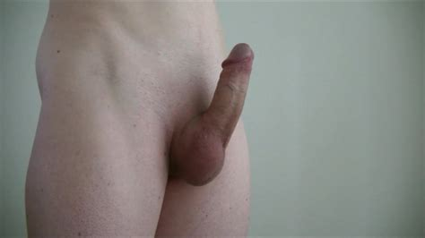 My Shaved Cock Getting Hard Gay Big Cock Porn 67
