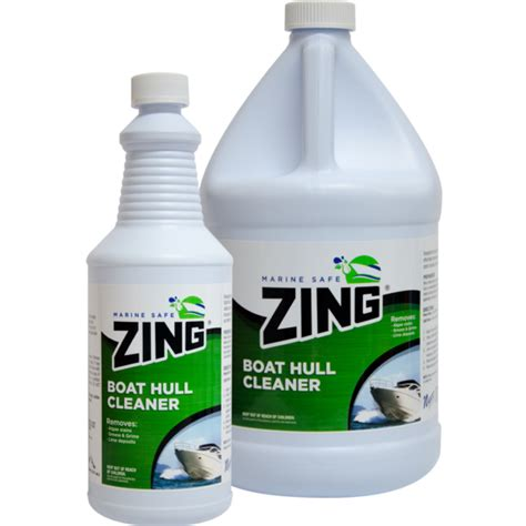 Boat Hull Cleaner Zing zing 174 professional and marine safe boat cleaners fresh
