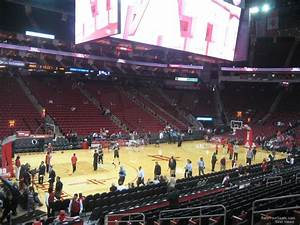 Section 110 At Toyota Center Houston Rockets