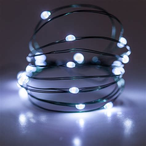 battery operated lights  cool white battery operated
