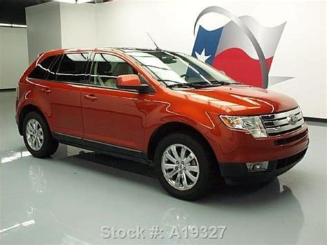 how does cars work 2008 ford edge parking system purchase used 2008 ford edge sel leather pano sunroof park assist 57k texas direct auto in