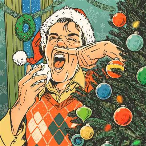 holiday irritants could you be allergic to christmas