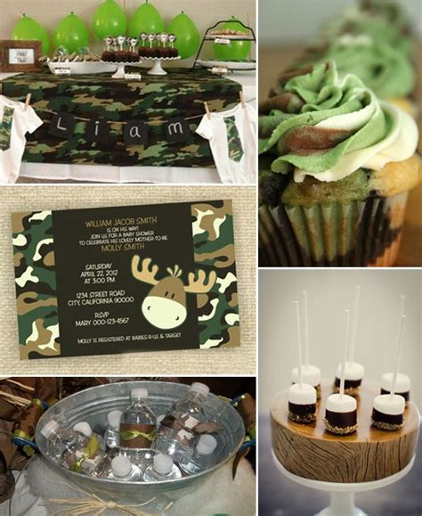 camo baby shower ideas baby shower ideas pinterest