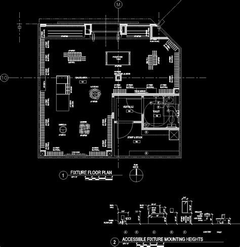 Retail Store Plans DWG Plan for AutoCAD ? Designs CAD