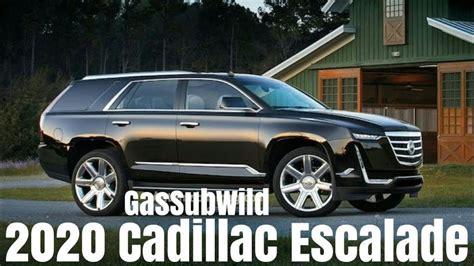2019 Cadillac Escalade Concept by 2020 Cadillac Escalade Concept 2019 2020