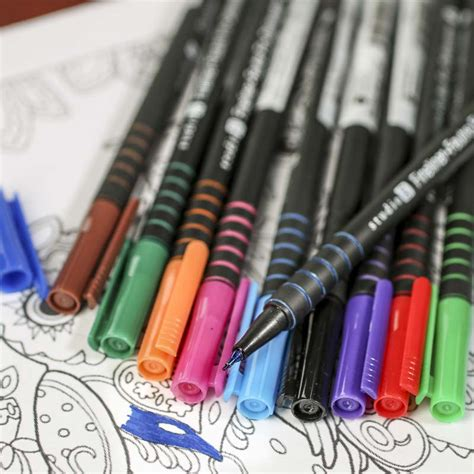 adult coloring fineliner markers tools and hardware