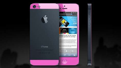 how much iphone 5s the iphone 5s in vibrant pink iphone pandaapp