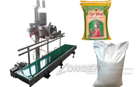 automatic rice bag stitching machine  conveyorvacuum packing machinecellophane wrapping