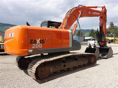 hitachi zx  excavator  sale  hours chase bc  mylittlesalesmancom