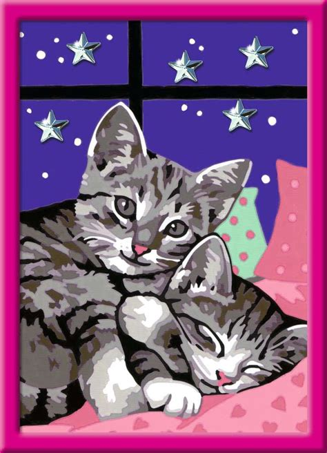 schlafende katzen bild  klicken zum vergoessern