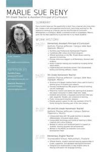 elementary school principal resume exles assistant principal resume sles visualcv resume sles database