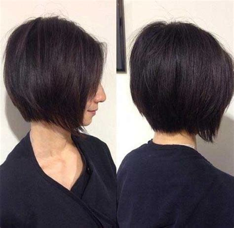 stylish  eye catching  graduated bob haircuts short