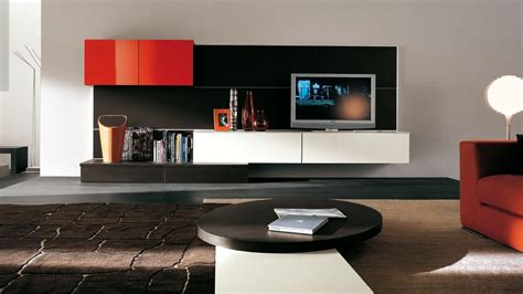 26+ Magnificent Modern Wall Units For Living Room