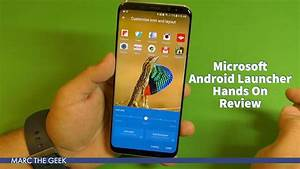 Microsoft Android Launcher Hands On Review