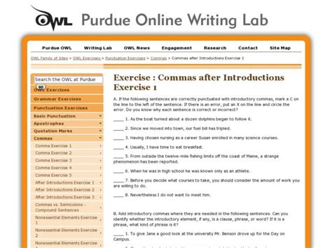 all worksheets 187 commas after introductory phrases