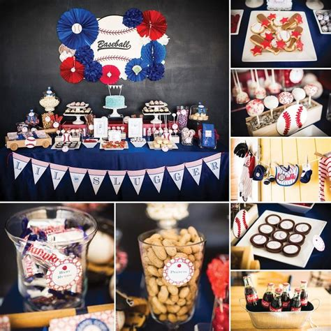 baseball baby shower decorations and entertaining
