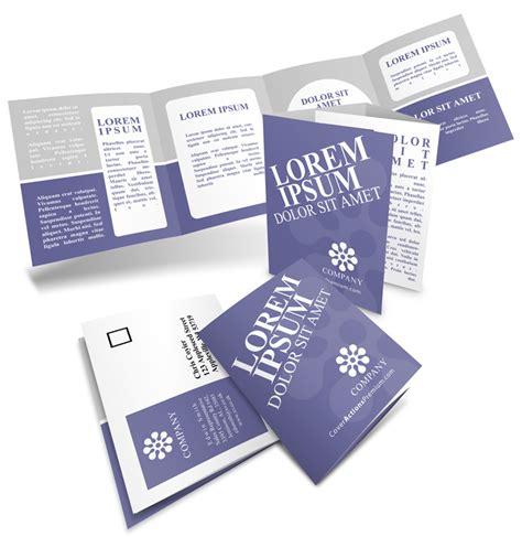 14 X 8 5 Four Panel Roll Fold Brochure Mockup On 8 Pp Roll Fold Brochure Mockup 17x 5 5 Cover Actions