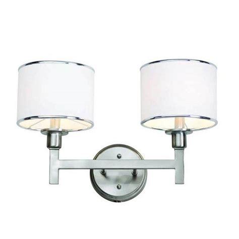 light bar for bathroom bel air lighting cabernet collection 2 light brushed
