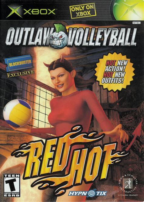 outlaw volleyball red hot xbox