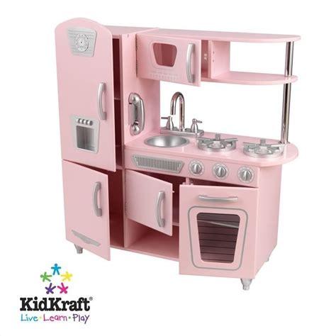 cuisine vintage kidkraft kidkraft vintage play kitchen in pink 53179