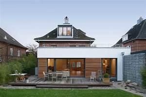 Anbau Einfamilienhaus Beispiele : anbau auf der gartenseite ~ Lizthompson.info Haus und Dekorationen
