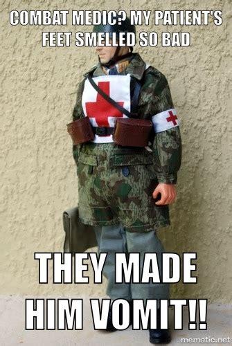 Army Medic Meme Funny
