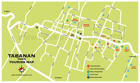detail tabanan location map  visitor bali weather