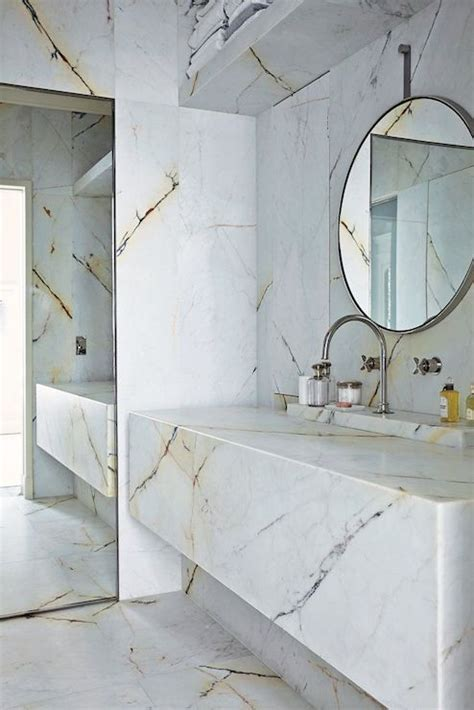 Marble Bathrooms   Modern   bathroom